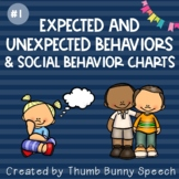Expected and Unexpected Behaviors & Social Behavior Charts