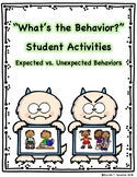 Expected and Unexpected Behaviors Student Activity