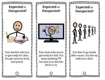 Expected or Unexpected? A Social Skills Lesson