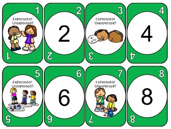 Expected or Unexpected Behaviors - Card Game