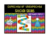 Expected or Unexpected Birthday Party Social Skills