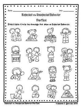 Expected vs. Unexpected Behavior Assessment