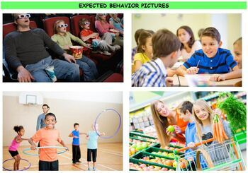 Expected vs. Unexpected Behavior Sorting Activity