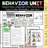 Expected vs. Unexpected Behavior Unit (sped/autism/middle/high school)