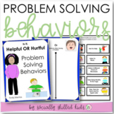 SOCIAL SKILLS ACTIVITIES: Problem Solving {Differentiated