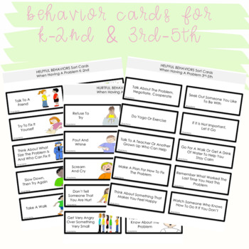 SOCIAL SKILLS ACTIVITIES: Problem Solving {Differentiated k-5th Grade/Ability}