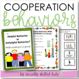 COOPERATION BEHAVIOR Working and Playing in a Group  {For K-5th Grade}
