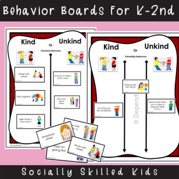 SOCIAL SKILLS Good Friend Behaviors {Differentiated Activities For K-5th Grade}
