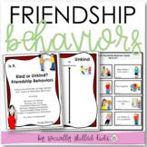 SOCIAL SKILLS Good Friend Behaviors {Differentiated Activi