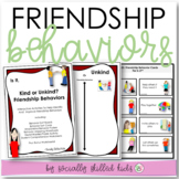 SOCIAL SKILLS ACTIVITIES: Friendship {Differentiated For k