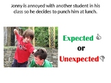 Expected vs. Unexpected PPT