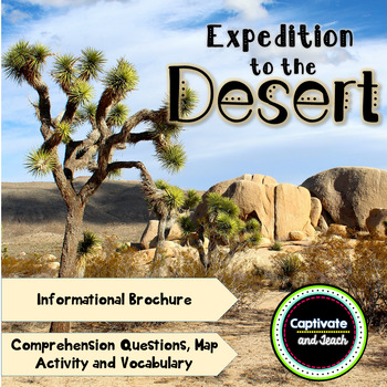 Expedition Desert: A Reading Adventure