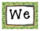 Expedition to Writing Theme Bulletien Board Letters
