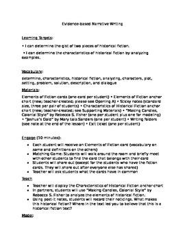 Expeditionary Grade 4 Module 2 Unit 3 Lesson 1