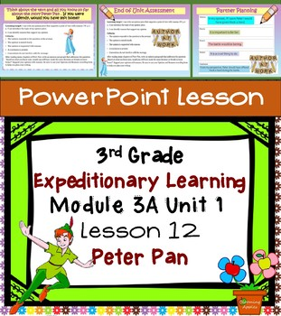 Expeditionary Learning 3rd Grade Power Point Lesson Module 3A Unit 1 Lesson 12