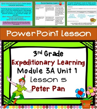 Expeditionary Learning 3rd Grade Power Point Lesson Module 3A Unit 1 Lesson 5