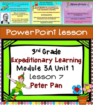 Expeditionary Learning 3rd Grade Power Point Lesson Module 3A Unit 1 Lesson 7