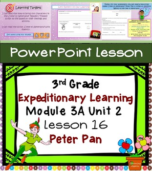 Expeditionary Learning 3rd Grade Power Point Lesson Module 3A Unit 2 Lesson 16