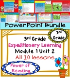 Expeditionary Learning 3rd Grade PowerPoint Bundle Module 1 Unit 2 lessons 1- 10