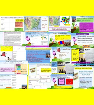 Engage NY Expeditionary Learning 3rd grd Module 1 Unit 3 PowerPoint Lessons 1-17