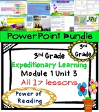 Expeditionary Learning 3rd Grade Power Point Bundle Module 1 Unit 3 Lessons 1-17