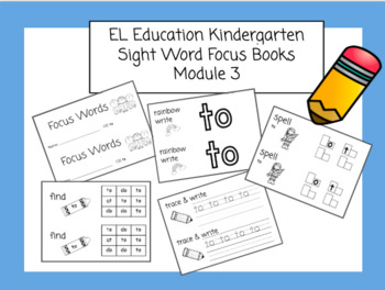 Expeditionary Learning (EL Education) Focus Booklets for Module 3