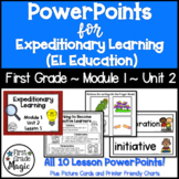 Expeditionary Learning (EL Education) 1st Grade Module 1 Unit 2 PowerPoints
