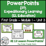 Expeditionary Learning (EL Education) 1st Grade Module 1 Unit 3 PowerPoints