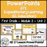 Expeditionary Learning (EL Education) 1st Grade Module 3 Unit 2 PowerPoints