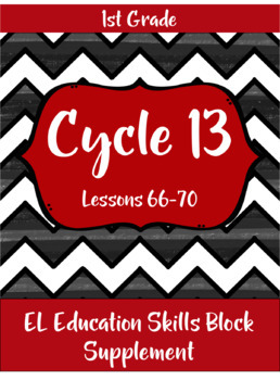 Expeditionary Learning (EL Education) Skills Block - First Grade - Cycle 13