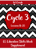 Expeditionary Learning (EL Education) Skills Block - First Grade - Cycle 3