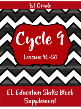 Expeditionary Learning (EL Education) Skills Block - First Grade - Cycle 9