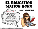 Expeditionary Learning (EL) Education Skills Block Station