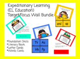 Expeditionary Learning (EL Education) Target/focus Wall Bundle