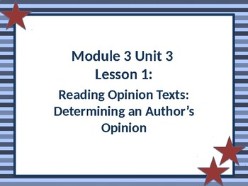Expeditionary Learning EL Grade 4 Module 3 Unit 3 Second Edition 2nd Edition