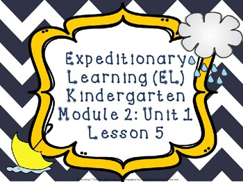 Expeditionary Learning (EL) Kindergarten Module 2: Unit 1: Lesson 5 PowerPoint