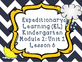 Expeditionary Learning (EL) Kindergarten Module 2: Unit 1: Lesson 6 PowerPoint