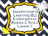 Expeditionary Learning (EL) Kindergarten Module 2: Unit 1: Lesson 7 PowerPoint