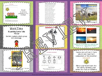 Expeditionary Learning (EL) Kindergarten Module 2: Unit 1: Lesson 8 PowerPoint