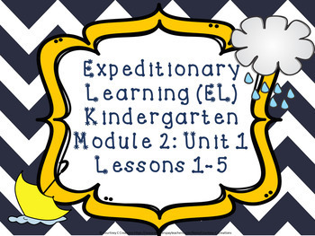 Expeditionary Learning (EL) Kindergarten Module 2: Unit 1: Lessons 1-5 PPTs
