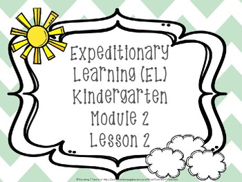 Expeditionary Learning (EL) Kindergarten Module 2: Unit 2: Lesson 2 PowerPoint