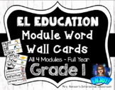 Expeditionary Learning (EL) Module Word Wall Cards Whole Y