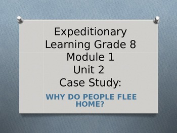 Expeditionary Learning ELA Grade 8 Module 1 Unit 2 Lesson