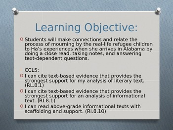 Expeditionary Learning ELA Grade 8 Module 1 Unit 2 Lesson 14 PowerPoint
