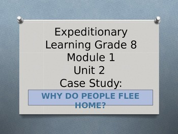 Expeditionary Learning ELA Grade 8 Module 1 Unit 2 Lesson 2 PowerPoint