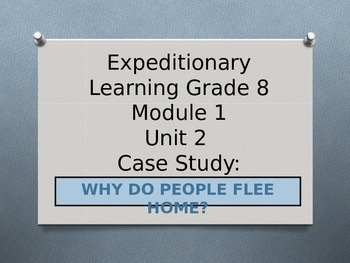 Expeditionary Learning ELA Grade 8 Module 1 Unit 2 Lesson 3 PowerPoint