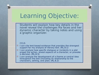 Expeditionary Learning ELA Grade 8 Module 1 Unit 2 Lesson 1 PowerPoint