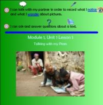 Expeditionary Learning Engage NY Module 1 Unit 1 Lesson 1 grade 3