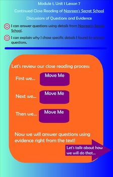 Expeditionary Learning Engage NY Module 1 Unit 1 Lesson 7 Grade 3