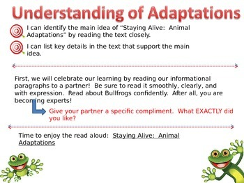 Expeditionary Learning Engage NY Module 2a Unit 2 Lesson 1 grade 3
